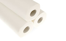 Photo of three kitchen rolls